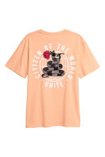 Printed T-shirt - Apricot - Men | H&M CA 3